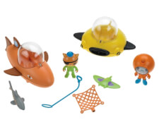 Mattel Oktonauten Guppy-Boote