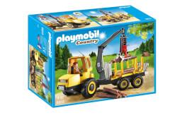Playmobil 6813 Holztransporter mit Kran