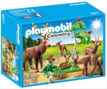 Playmobil 6817 Hirsch mit Rehfamilie