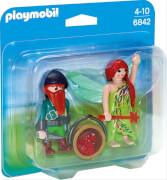 Playmobil 6842 Duo Pack Elfe und Zwerg