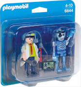 Playmobil 6844 Duo Pack Professor und Roboter