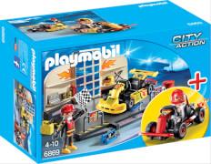 Playmobil 6869 StarterSet Gokart-Werkstatt
