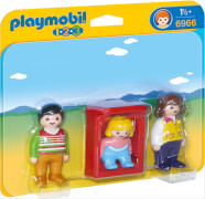 PLAYMOBIL 6966 Eltern mit Babywiege