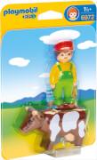PLAYMOBIL 6972 Bauer mit Kuh