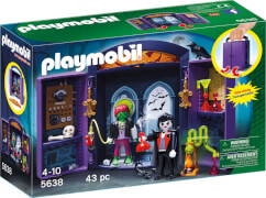 Playmobil 5638 Aufklapp-Spiel-Box Monsterburg