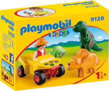 Playmobil 9120 Dinoforscher mit Quad