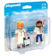 Playmobil 9216 Duo Pack Stewardess und Offizier
