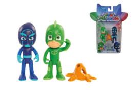 Simba PJ Masks - Figuren-Set ''Gecko und Nacht-Ninja'', Kunststoff, ca. 8 cm
