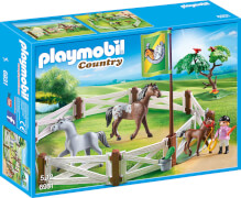 Playmobil 6931 Pferdekoppel, ca. 7x25x35, ab 5 Jahren