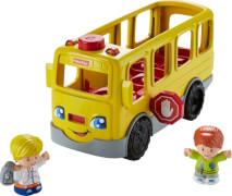 Mattel Fisher Price Little People Schulbus mit Liedern und Geräuschen, inkl. 2 Spielfiguren