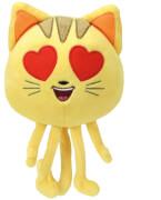 Emojis,Katze mit Herzaugen 15cm