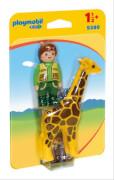 Playmobil 9380 Tierpfleger mit Giraffe