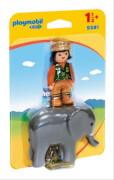 Playmobil 9381 Tierpflegerin mit Elefant