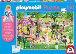 Schmidt Puzzle 56271 Playmobil Hochzeit, 150 Teile, ab 7 Jahre