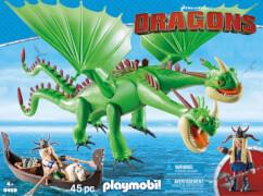 PLAYMOBIL 9458 Dragons Raffnuss und Taffnuss mit Kotz und Würg
