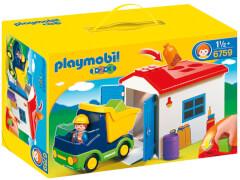 PLAYMOBIL 6759 LKW mit Sortiergarage