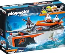 PLAYMOBIL 70002 SPY TEAM Turboship