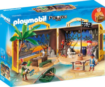 Playmobil 70150 Mitnehm-Pirateninsel