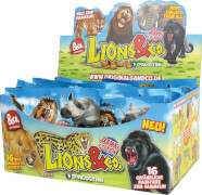 Lions & co., Tiere sortiert -  16 verschiedene gefährliche Raubtiere zum Sammeln! DeAGOSTINI
