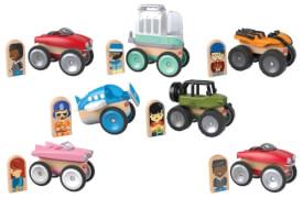 Mattel GFJ19 Fisher-Price Wunder Werker Fahrzeug sortiert