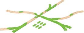 Mattel GFP81 Fisher-Price Wunder Werker Erweiterungsset Schienen