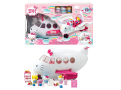 Jada Hello Kitty Jet Plane Playset