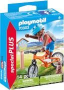 PLAYMOBIL 70303 Mountainbiker auf Bergtour