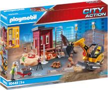 PLAYMOBIL 70443 Minibagger mit Bauteil