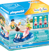 Playmobil 70112 Badegast mit Schwimmreifen