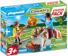 Playmobil 70505 Starter Pack Reiterhof Ergänzungsset