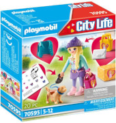 Playmobil 70595 Fashion Girl mit Hund