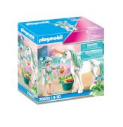 Playmobil 70655 Einhorn mit Fütter-Fee
