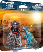 Playmobil 70693 DuoPack Jagd auf Velociraptor