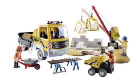 Playmobil 70742 Baustelle mit Kipplaster