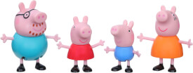 Hasbro F21905X0 Peppa Pig Familie Wutz Figuren 4er-Pack