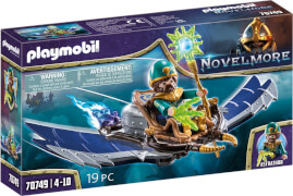 PLAYMOBIL 70749 Novelmore, Violet Vale - Magier der Lüfte