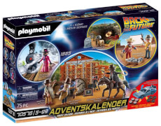 PLAYMOBIL 70576 Adventskalender ''Back to the Future Part III''