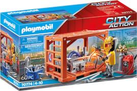PLAYMOBIL 70774 Containerfertigung