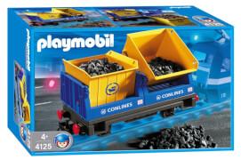 Playmobil 4125 Kipplorenwaggon