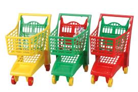 Simba Einkaufswagen ''Funny Shopper'', Kunststoff, ca. 40x27x47 cm, ab 3 Jahre, sortiert