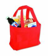 Einkaufstasche Stoff gefüllt