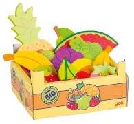 GoKi Obst in Obstkiste, Kiste: 13,6 x 10,6 x