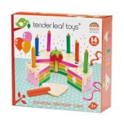Tenderleaftoys - Geburtstagskuchen Regenbogen