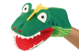 KERSA Handspielpuppe Krokodil Klappi Classic