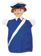 KERSA Handspielpuppe Polizist,blau KERSALina