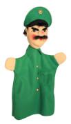 KERSA Handspielpuppe Polizist,grün Classic