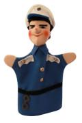 KERSA Handspielpuppe Polizist Bepo,blau Classic