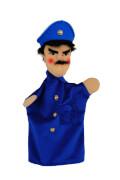 KERSA Handspielpuppe Polizist,blau Classic