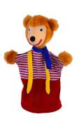 KERSA Handspielpuppe Petz der Bär Classic