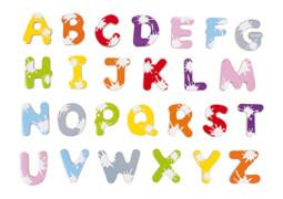 Splash Buchstabenset (52 Stück)